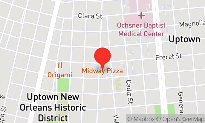 The Midway on Freret St.