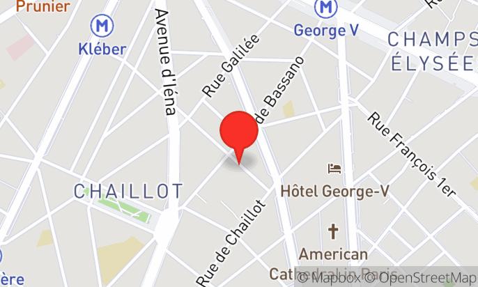 Bar de l'Hôtel Belmont 4* - Champs Elysées