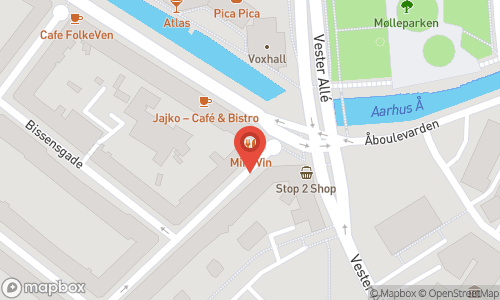 Map of the location of Miró