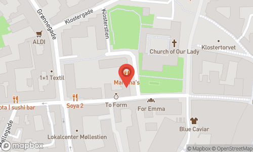 Map of the location of Pinot Butik & Bar