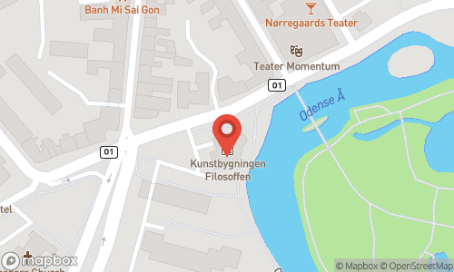 Map of the location of Champagneskole