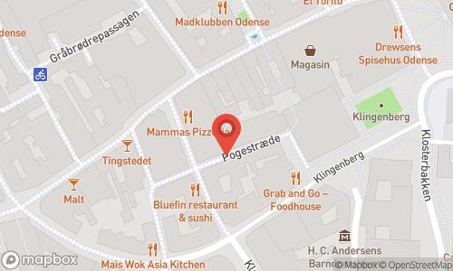 Map of the location of En aften med Vin & Ost