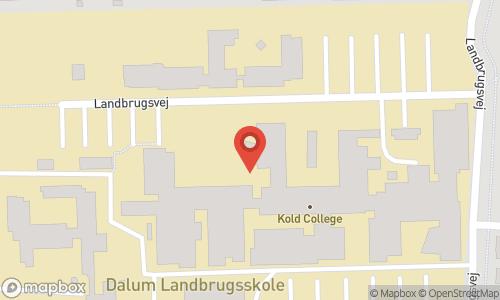 Map of the location of LALOU OPEN 2021 - åbne blindsmagningsmesterskaber for tremandshold.