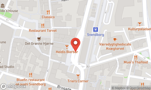 Map of the location of Vinsted