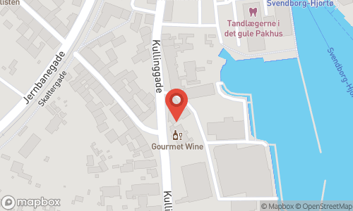Map of the location of Luksus portvins aften hos Gourmet Wine