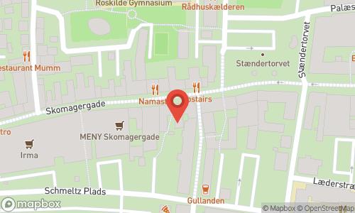 Map of the location of Den Franske Vinhandel