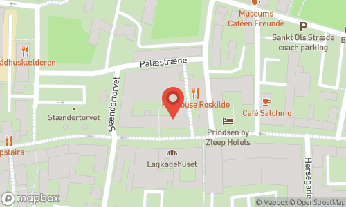 Map of the location of Vivino bar Roskilde