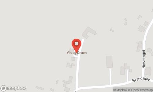 Map of the location of Vin & Druen
