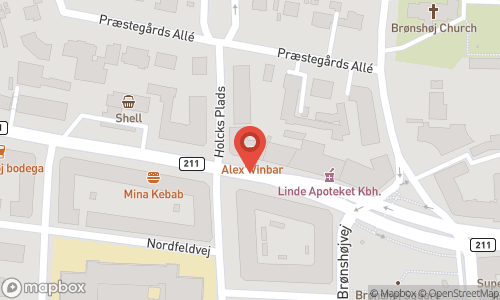 Map of the location of Vino Vibbe