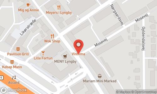 Map of the location of Champagnesmagning v/Cedric Henri Kragh + let spisning