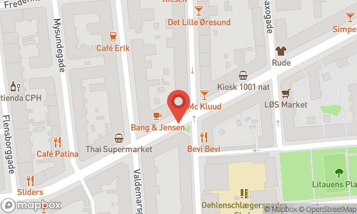 Map of the location of Champagnemiddag
