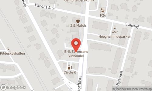 Map of the location of Erik Sørensen Vin