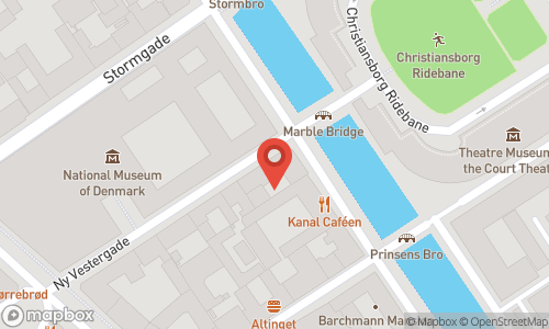 Map of the location of Ubbes Vinhandel