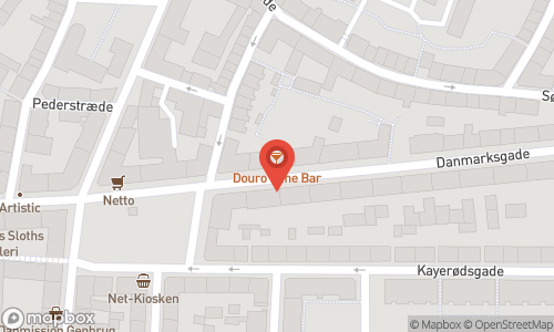 Map of the location of Douro Wine Bar