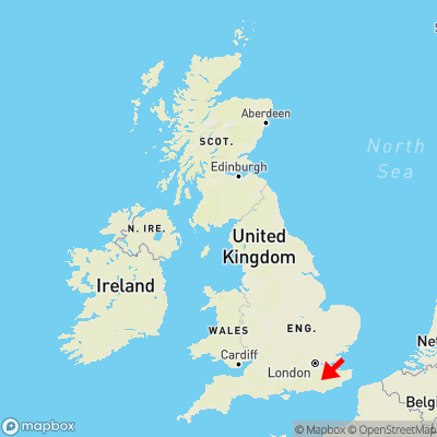 Map showing location of Balls Green within the UK