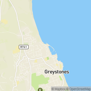 Greystones Blue Flag Beach 2019 Map