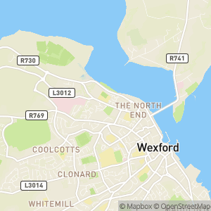Wexford Walking Tours Map