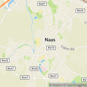 Naas Self Guided Historic Town Walk Map