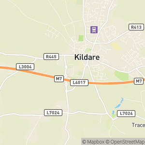 Kildare Village Outlet Shopping Map