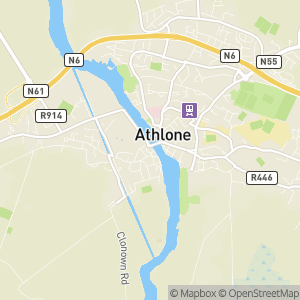 Athlone Castle Map