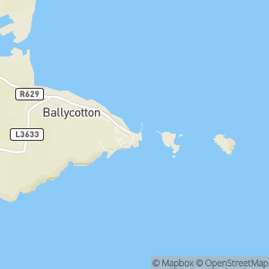 Ballycotton Island Lighthouse Tours Map