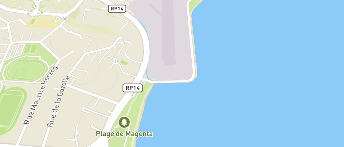 Plan de OPTIQUE MAGENTA PLAGE