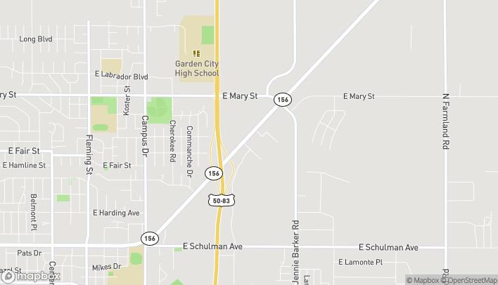 Mapa de 3104 E Kansas Ave en Garden City
