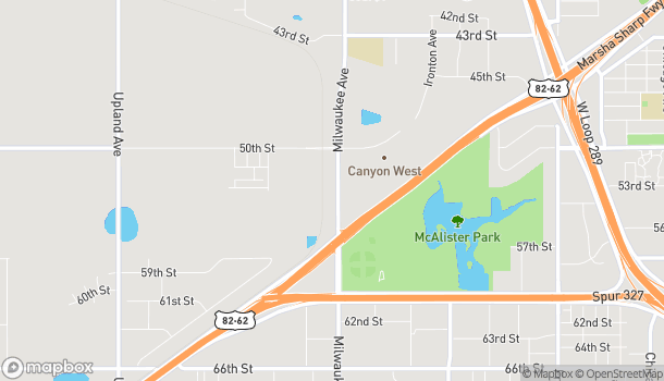 Map of 5016 Milwaukee Ave in Lubbock