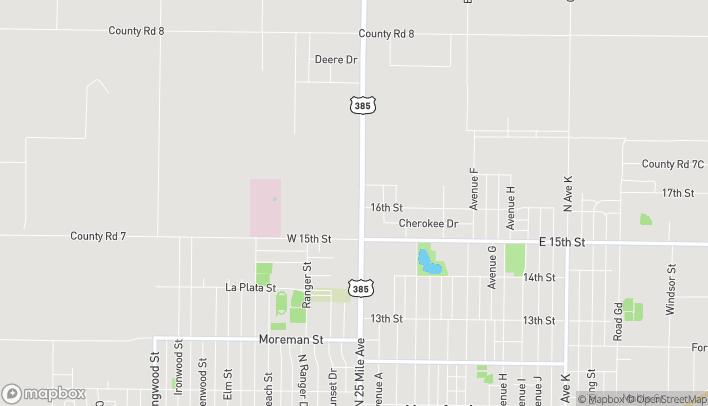Mapa de 701 N 25 Mile Ave en Hereford