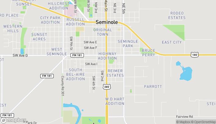 Mapa de 807 S Main en Seminole