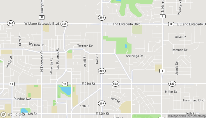 Map of 2701 N Prince St in Clovis
