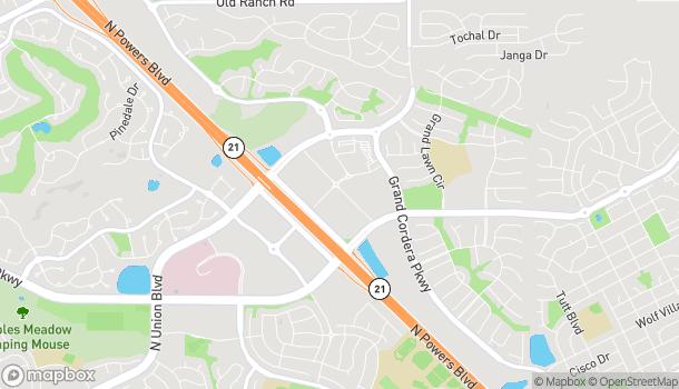 Mapa de 9697 Prominent Pt en Colorado Springs