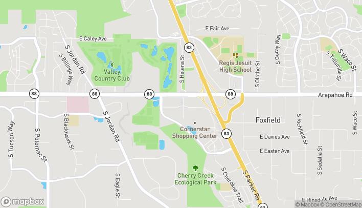 Map of 6755 Cornerstar Way in Aurora