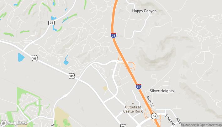 Map of 6375 Promenade Parkway in Castle Rock