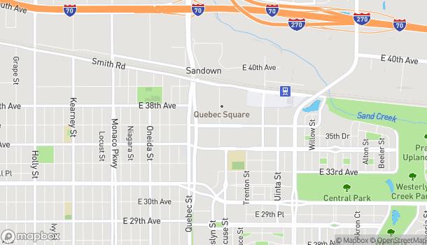 Mapa de 7507 E 36th Ave en Denver