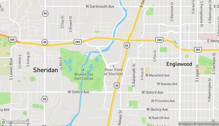 Mapa de 3702 River Point Pkwy en Sheridan