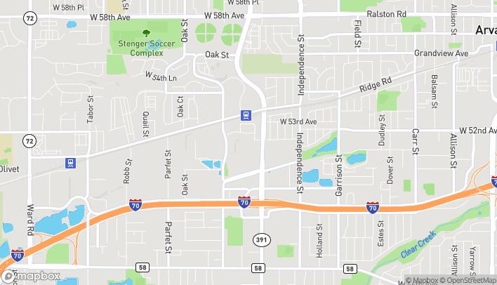 Map of 5131 Kipling Street in Wheat Ridge