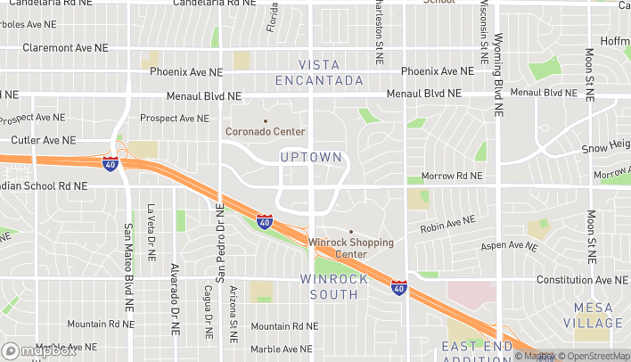 Map of 2200 Louisiana Blvd NE in Albuquerque