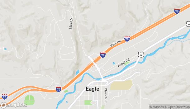 Mapa de 94 Market Street en Eagle