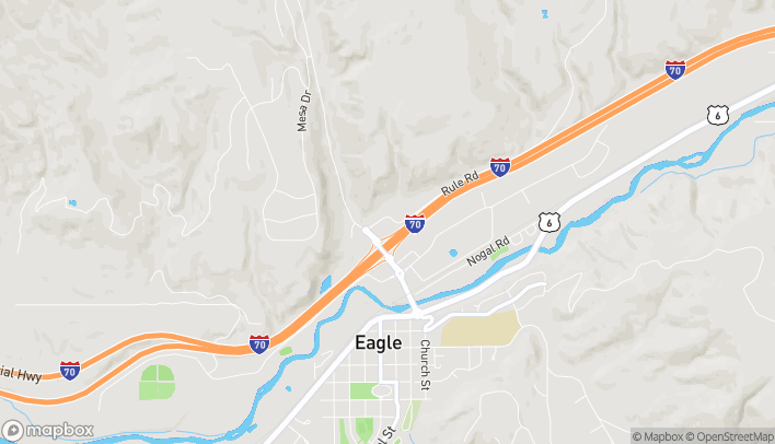Map of 94 Market Street in Eagle
