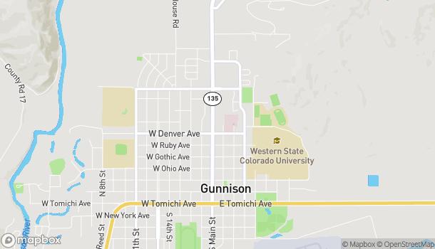 Mapa de 714 Main Street en Gunnison