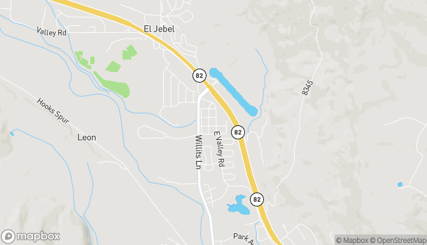 Map of 870 E Valley Rd in Basalt