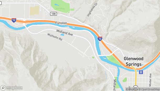 Map of 20 Market Street in Glenwood Springs