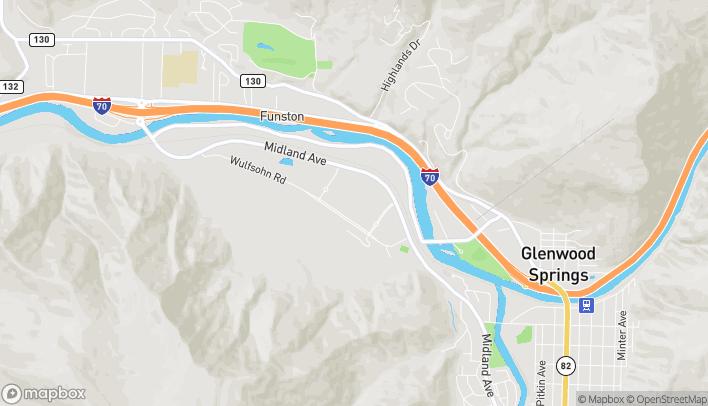 Mapa de 20 Market Street en Glenwood Springs