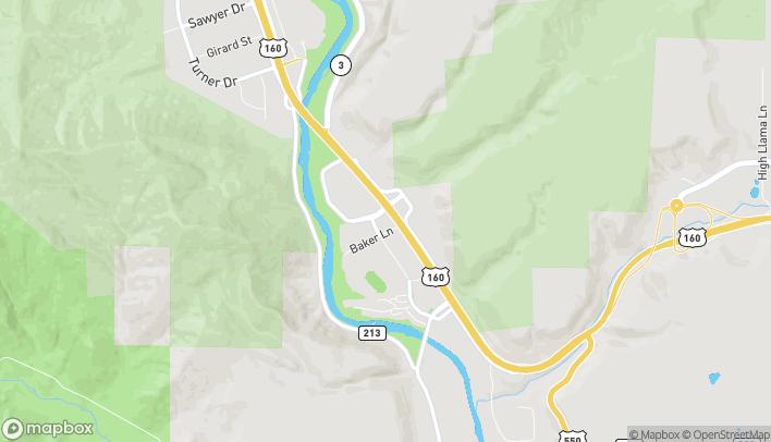 Mapa de 1185 S. Camino Del Rio en Durango