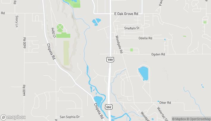 Mapa de 1414 Hawk Pkwy en Montrose