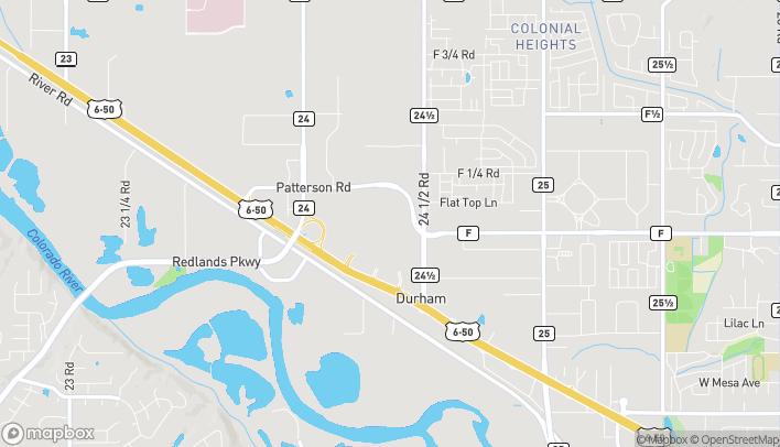 Mapa de 2424 Hwy 6 and 50 en Grand Junction