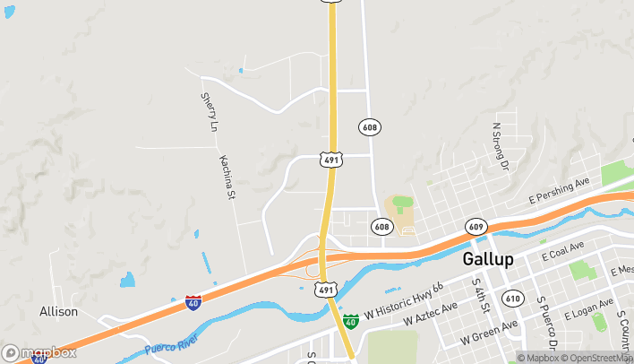 Map of 815 US Hwy 491 in Gallup