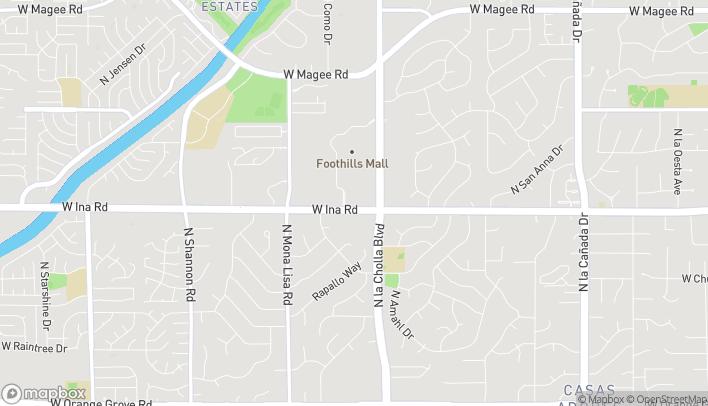 Mapa de 2220 W Ina Rd en Tucson