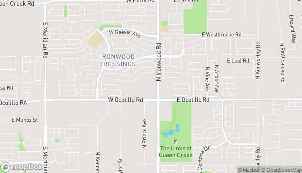 Map of 40930 N. Ironwood Drive in San Tan Valley